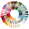 50 Colors Embroidery Sewing Thread Hand Cotton Cross Stitch Quilting DIY Crafts