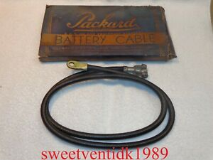 """NOS...Packard Electric (+) Battery Cable...(59"""")....1933 -1939 Cadillac,  Graham"""