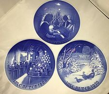 B & G Bing & Grondahl Christmas collector plates 1968 1970 1971
