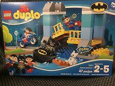 New Lego Duplo Batman Adventures 10599 Superman Wonder Woman Batman 47 Pieces