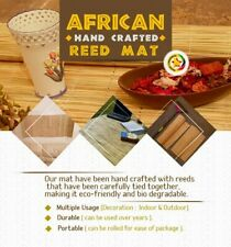 SALE.  African Reed Mat made with bamboo material  handcrafted multi functional