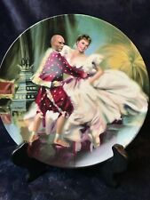 """Knowles Fine China- """"The King & I- Shall We Dance"""" 8 1/4"""" Plate"""