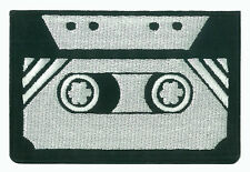 Patch écusson patche K7 cassette tape thermocollant applique brodé