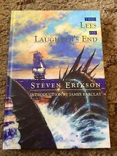 THE LEES OF LAUGHTER'S END Steve Erikson 1st trade HC SIGNED WITH DRAWING fine