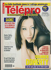 TELEPRO 2356 (29/4/99) SHANNEN DOHERTY SOPHIE THALMANN RICHARD GRIECO BLEETH