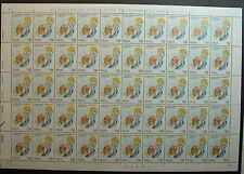 1994  ITALIA  750 lire  Campionati  Mondiali di  Nuoto   foglio intero MNH*