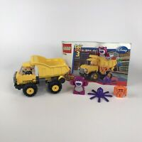 Lego Toy Story 7789 Lotso's Dump Truck With 4 Minifigures & Manual