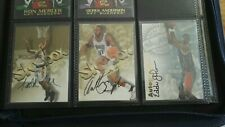 NBA Trading Cards Skybox 1997 Autographics Lot 3 Autograph Cards rare