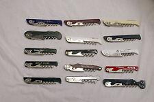 Lot Of 15 Franmara Italy TSA Confiscated Corkscrews Lot 219