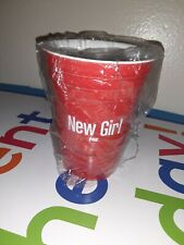 Kikkerland Fox New Girl Tv Show Promotional Porcelain Red Party Cup