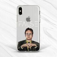 Dwight Schrute False Office Show Case For iPhone 6S 7 8 Xs XR 11 Pro Plus Max SE