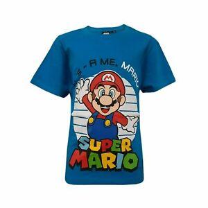 Super Mario T-Shirt Gr:104-152 NEU