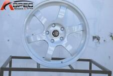 One 17x7.5 Rota GRID 5x114.3 +45 White Wheel