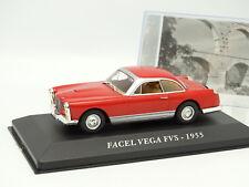 Ixo Presse 1/43 - Facel Vega FVS 1955 Rouge