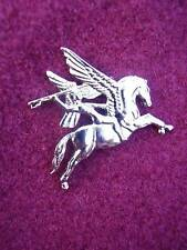 British Army Para/Airborne Silver Metal PEGASUS Military Lapel/Tie Pin Badge New
