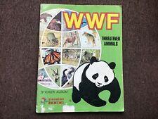 WWF Threatened Animals Sticker Album Panini - Complete