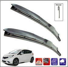 NISSAN NOTE 2013-ON Set of 2 wiper blades HYBRID HOOK