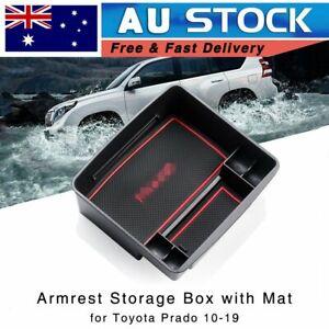 New Armrest Storage Box for Toyota Land Cruiser Prado VX 2010-2022 Console Tray