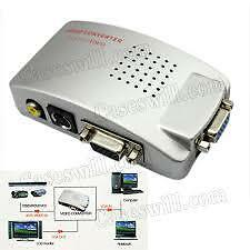 APLINK15 PIN VGA to A/V  TV S-Video VGA TO PAL box Conversion Converter Adapterl