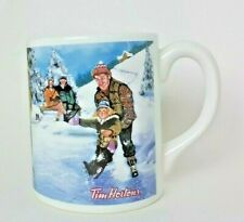 Tim Hortons Coffee Mug Skating Pond 003 Limited Edition Christmas Collector Gift