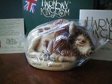 Harmony Kingdom O Give Me a Home Buffalo Bison Box Figurine Uk Made Nib Bagged
