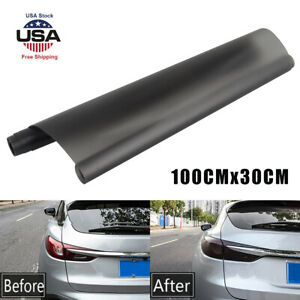 Light Black Car Rear Lights Tail Light Film Sticker Trims Wrap Accessories 2021