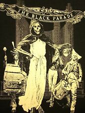 MY CHEMICAL ROMANCE lrg T shirt Black Parade emo-rock MCR skeleton tee 2006