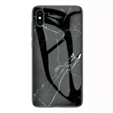 Marble Glass Protective Case for iPhone XS Max(