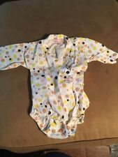Lucky Wang NYC Infant One Piece White 3mo $88