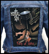 MORTAL SIN - Face of Despair --- Giant Backpatch Back Patch