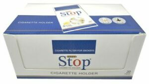 New 8 hole Super Stop Cigarette Filters 20 packs 600 filters - FREE SHIPPING