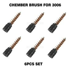 6Pc 3006 Bronze Bristle Chamber Brush For Cleaning