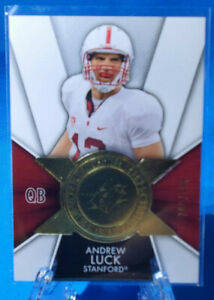 2014 Upper Deck SPX Football 788/999 Andrew Luck FI-AL Stanford, Colts