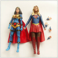 LOT 2 DC Direct Collectibles TV SUPERGIRL DC Universe BIG BARDA Action Figure 6""