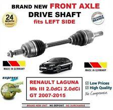 FOR RENAULT LAGUNA III 2.0dCi +GT 2007-2015 BRAND NEW FRONT AXLE LEFT DRIVESHAFT
