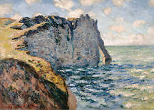 The Cliff of Aval, Etretat Claude Monet Frankreich Normandie Klippen B A3 01229