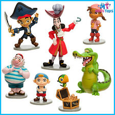Disney Jake and the Never Land Pirates 7pce Figurine Figure PlaySet cake topper