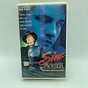 Sins Of The Mother VHS PAL Video Ex Rental Clam Shell 1991 Premier