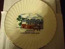 Souvenier  1974 plate Gristmill in Dunannon PA started 1814 completed 1817