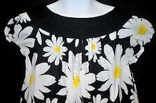 Cherokee Daisy Print Dress Size 6/6X  Mod Flower Power Vintage-Inspired Look
