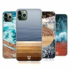 HEAD CASE DESIGNS SEA AND WOOD PRINTS SOFT GEL CASE FOR APPLE iPHONE PHONES