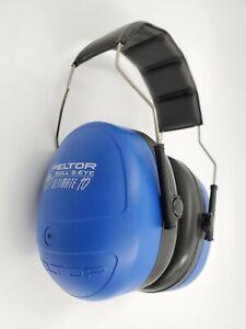 Peltor Bullseye Ultimate Hearing Protector 97010 Blue Black NRR 30DB Range