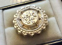 Lovely Sweet Antique Victorian Sterling Silver Pretty Brooch Very Nice