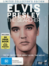 Elvis Presley The Searcher with Book Limited edition DVD Region 2 4 NEW