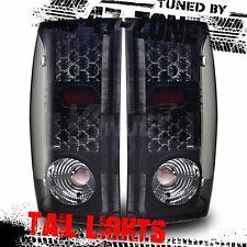 Stealth For 2000-2005 Ford Ranger LED Black Housing Smoke Lens Tail Lights Lamp