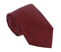 Roberto Cavalli ESZ016 02000 Red Micro Geometric  Tie