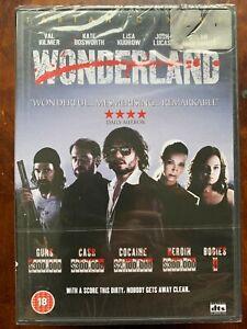 Wonderland DVD 2003 John Holmes True Life Crime Movie UK DTS Release BNIB