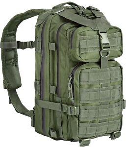 Zaino tattico militare/softair 35 lt. Defcon5 colore olive.