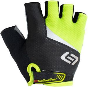 Bellwether Ergo Gel Gloves - Hi-Vis Yellow, Short Finger, Men's, Large