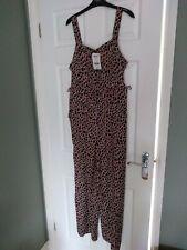 BNWT Boden Tillie kaki Animal Vert Leopard Taille 10 Combinaison R.r.P £ 130
